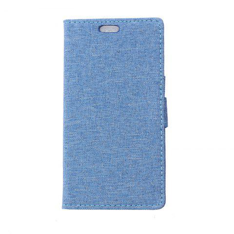 New Cover Case for Samsung Galaxy J2 Pro 2018 Solid Color Linen Texture Holster