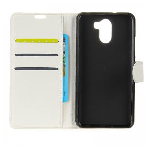 Cover Case for Samsung Galaxy S9 PLUS Pure Color Litchi Leather -