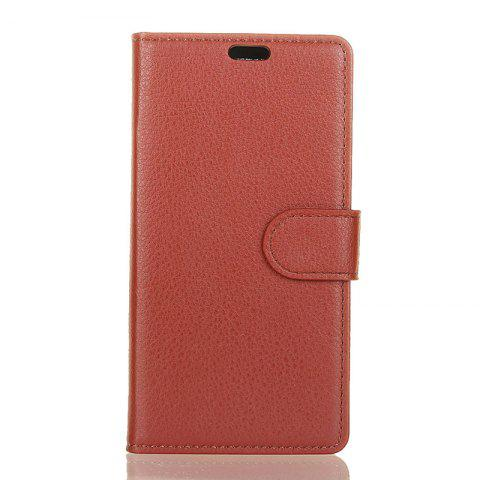 Best Cover Case for Samsung Galaxy S9 PLUS Pure Color Litchi Leather