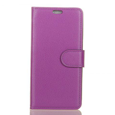 New Cover Case for Samsung Galaxy S9 PLUS Pure Color Litchi Leather