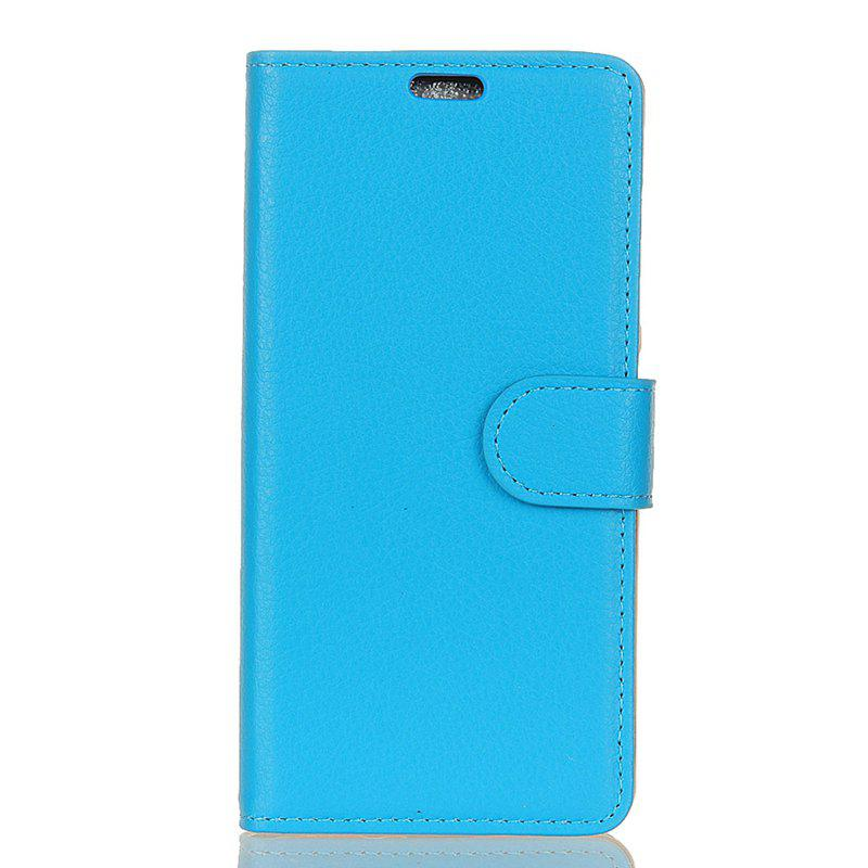 Fashion Cover Case for Samsung Galaxy S9 PLUS Pure Color Litchi Leather