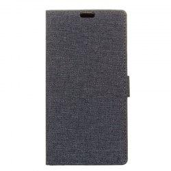 Cover Case for Samsung Galaxy S9 PLUS Solid Color Linen Texture Holster -