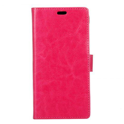 Cheap Cover Case for Samsung Galaxy S9 PLUS Pure Color Crystal Texture Leather