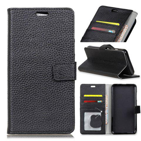 Outfits Cover Case for Samsung Galaxy S9 PLUS Solid Color Business Leather
