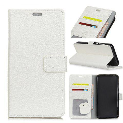 Trendy Cover Case for Samsung Galaxy S9 PLUS Solid Color Business Leather