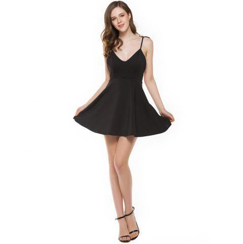 Discount New Stereo Angel Wing Strap Dress