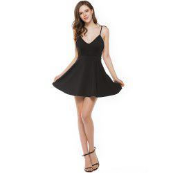 New Stereo Angel Wing Strap Dress -