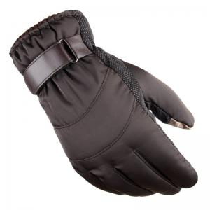 Winter Men's Gloves Heavy Rain Snowstorm Skiing Warm Warm and Windproof Gloves -