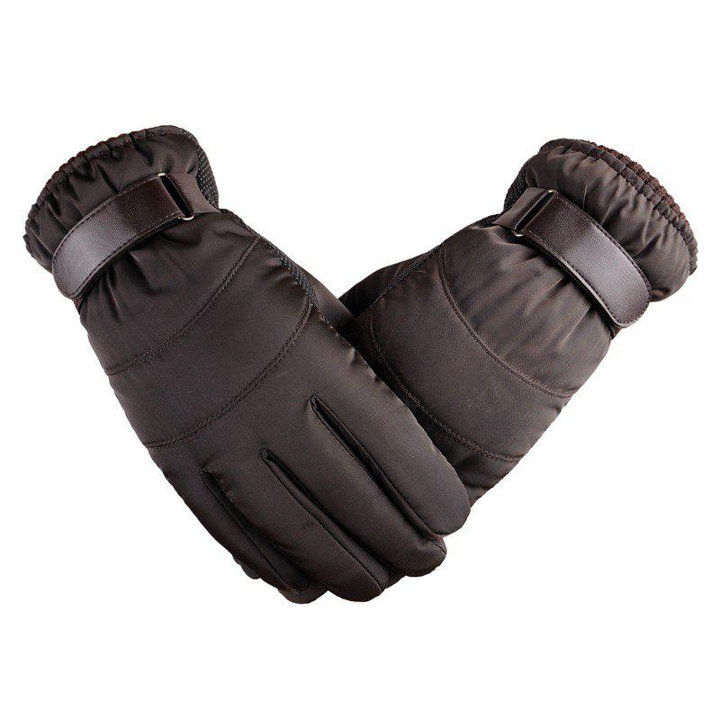 Latest Winter Men's Gloves Heavy Rain Snowstorm Skiing Warm Warm and Windproof Gloves
