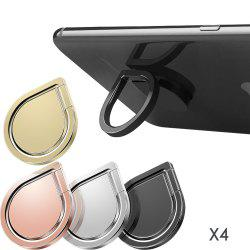 Ring Holder Stand 4 Pack Phone Grip 360 Degree Rotation -