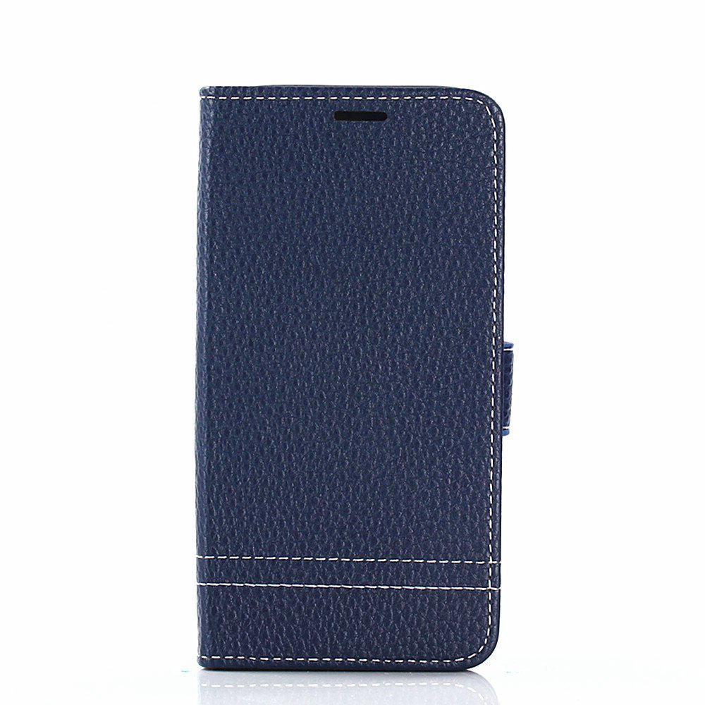 Buy Cover Case for Samsung Galaxy J730 Lychee Striped Back Button Leather