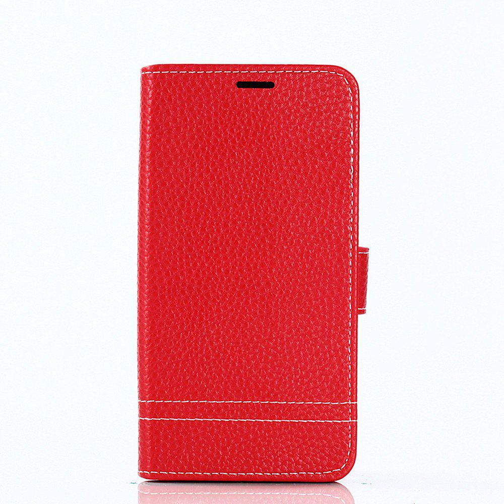 Discount Cover Case for Samsung Galaxy J730 Lychee Striped Back Button Leather