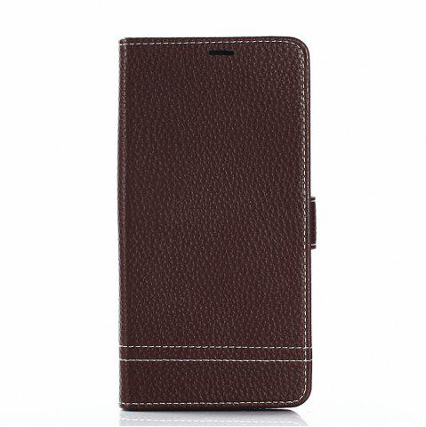 Fashion Cover Case for Samsung Galaxy Note 8 Lychee Striped Back Button Leather
