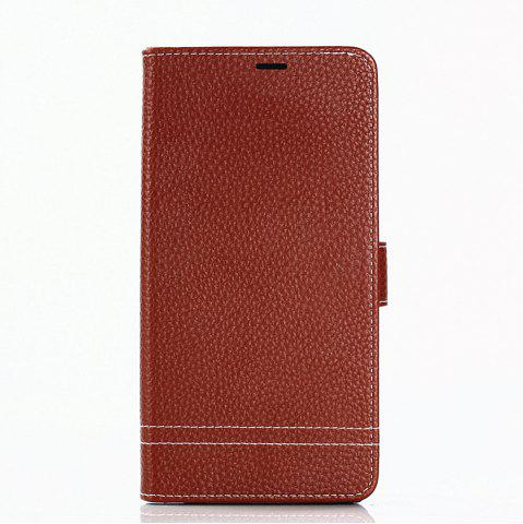 Hot Cover Case for Samsung Galaxy Note 8 Lychee Striped Back Button Leather