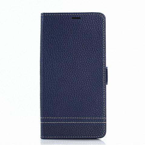 Trendy Cover Case for Samsung Galaxy Note 8 Lychee Striped Back Button Leather