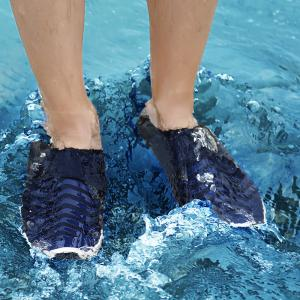 Breathable Outdoor Striped Skin Shoes -