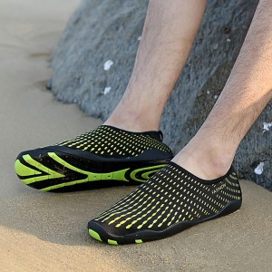 Outdoor Striped Breathable Skin Shoes -