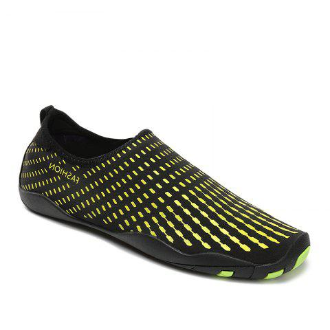 Discount Outdoor Striped Breathable Skin Shoes