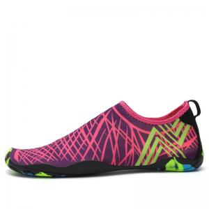 Classic Grid Striped Swimming Yoga Shoes -