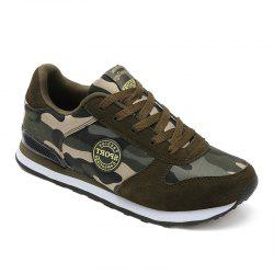 Camouflage Couple Chaussures de plein air -
