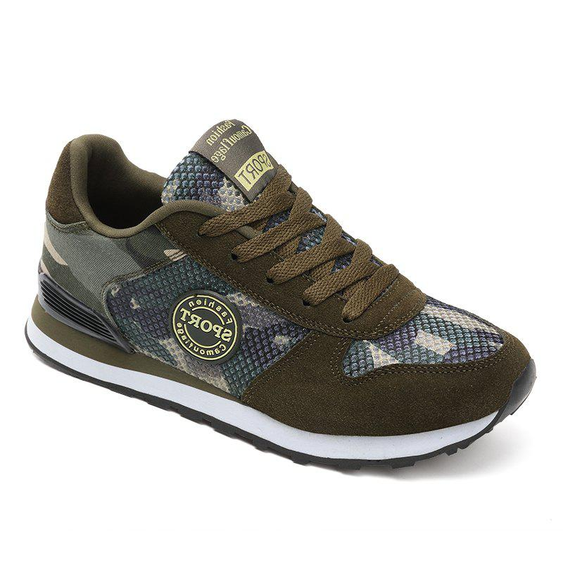 Fancy Camouflage Couple Outdoor Net Shoes