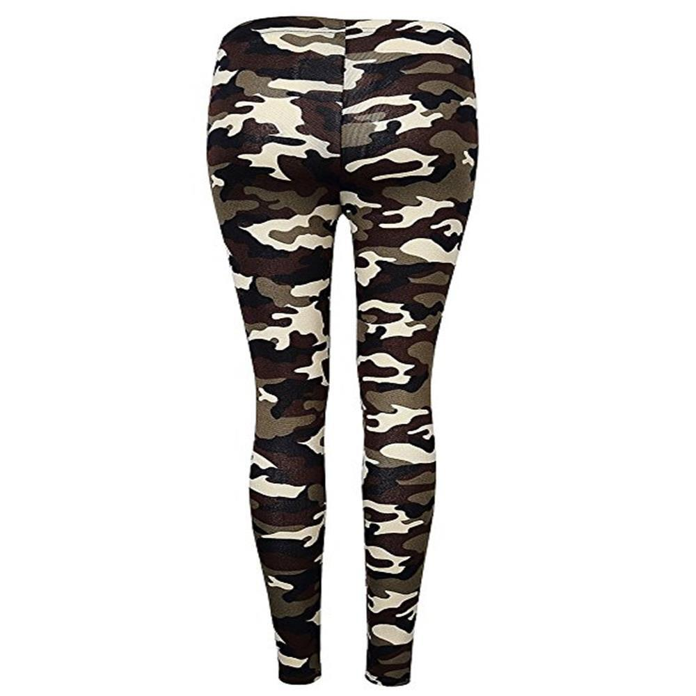 New New Type Camouflage and Multicolored Pattern Pants