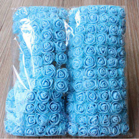 Hot 144 PCS Artificial Foam Rose Multicolor PE Flowers Ornaments Valentine's Day present