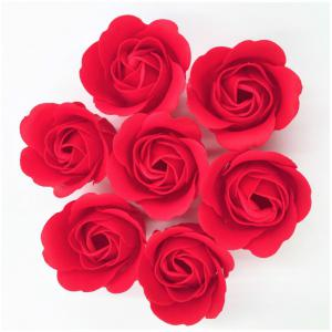 Rose Soap Flower Petal For WeddingValentine's Day Decorative Flowers -