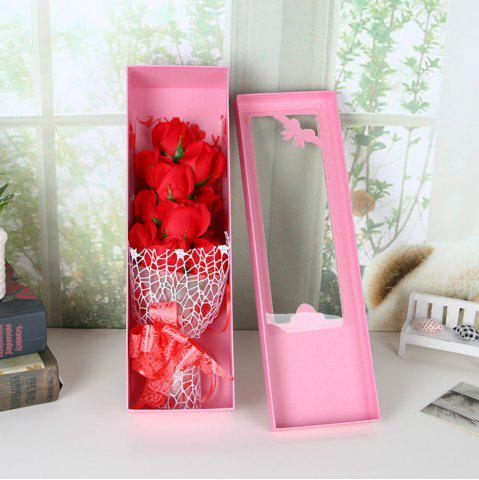 Outfit Valentine's Day Cartoon  Soap Rose Flower Festivals Birthday Wedding  Gift