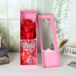 Valentine's Day Cartoon  Soap Rose Flower Festivals Birthday Wedding  Gift -