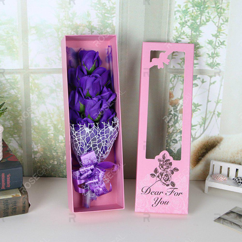 Shop Valentine's Day Cartoon  Soap Rose Flower Festivals Birthday Wedding  Gift