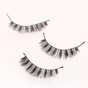 Handmade False Eyelashes Thick Eye Tail Elongated Makeup 10 Pairs -
