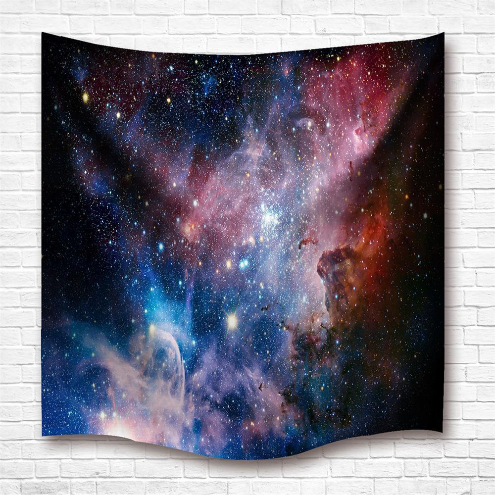 Outfit The Stars 3D Digital Printing Home Wall Hanging Nature Art Fabric Tapestry For Dorm Bedroom Living Room Decorations