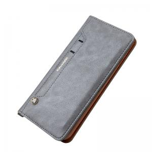 For iPhone 7 Plus  Clamshell Rotating Card Purse Holster -