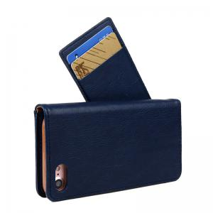 For iPhone 8 Clamshell Rotating Card Purse Holster -