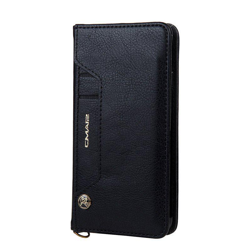 Cheap For iPhone 8 Clamshell Rotating Card Purse Holster