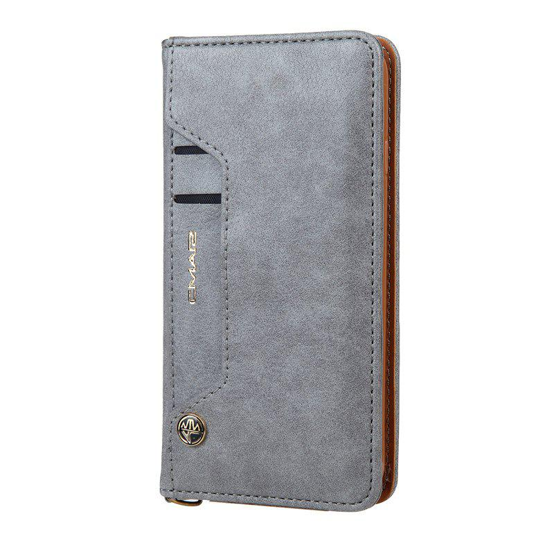 Fancy For iPhone 8 Clamshell Rotating Card Purse Holster