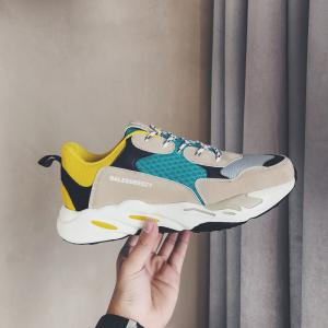 The New Simple Sports and Leisure Trend of Men'S Running Shoes -