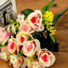 Artificial Flowers Vivid  Rose Bouquet Home Decorative Display -