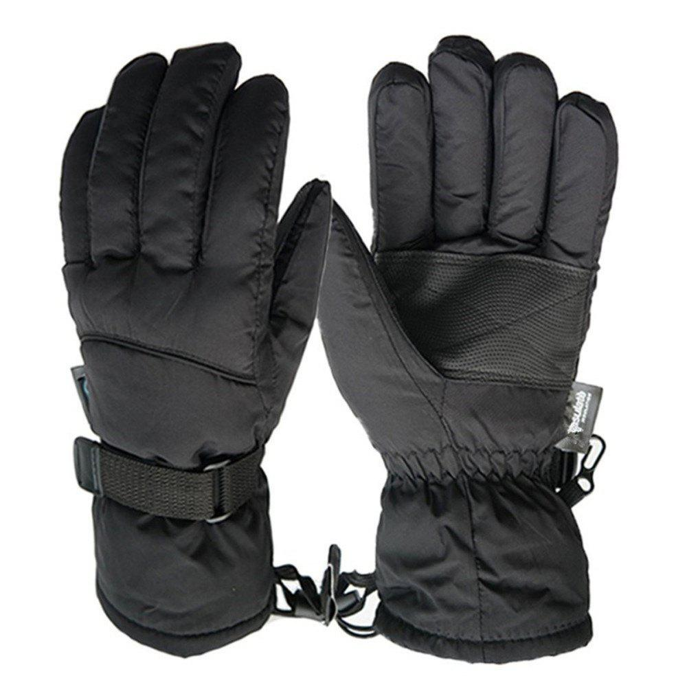 Fancy Water Proof Man -30 Degree Warm Riding Extended Wrist Gloves