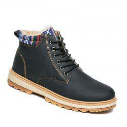 Outdoor Waterproof Casual Shoes Fashion Martins Boots High-Top Hiking Shoes -