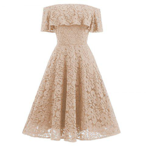 Chic New Type Slim Lace Dress