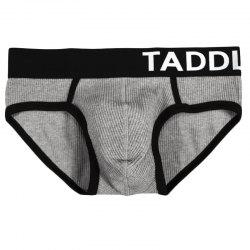 Taddlee 3pcs Pack Sexy Briefs Underwear for Men Cotton Low Rise Stretch Briefs  Waistbands Bikini -