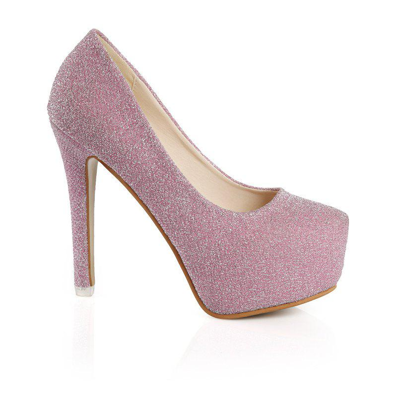 Sale High Heel Female Shallow Mouth And Waterproof Platform Women's Shoes