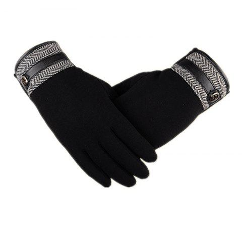 Outfit Touch Screen Lovers Gloves Cashmere Wool Cashmere Car Riding and Leisure Style in Autumn and Winter