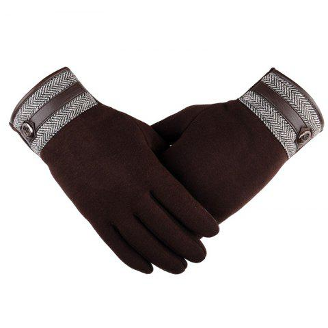 Chic Touch Screen Lovers Gloves Cashmere Wool Cashmere Car Riding and Leisure Style in Autumn and Winter
