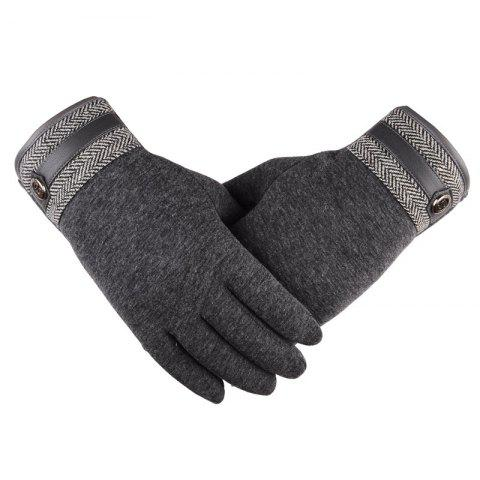 Latest Touch Screen Lovers Gloves Cashmere Wool Cashmere Car Riding and Leisure Style in Autumn and Winter