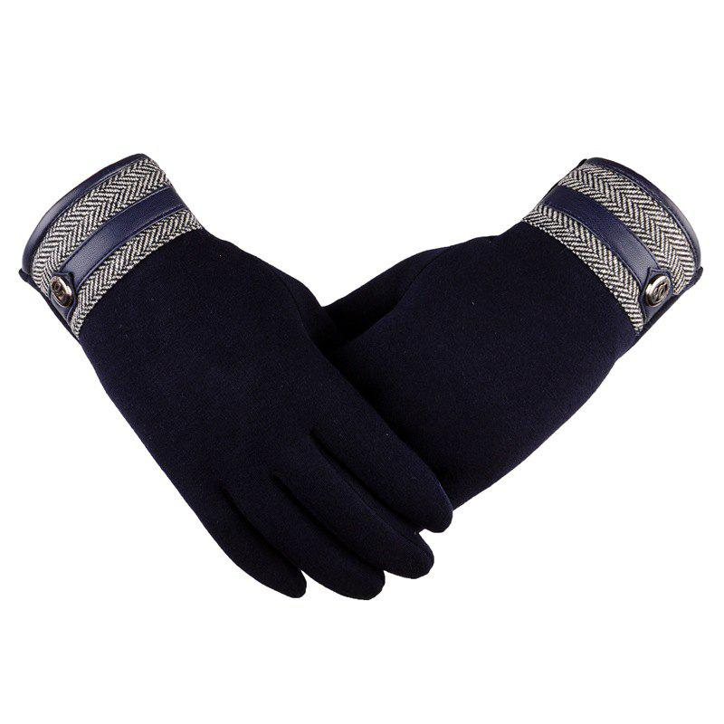 Shop Touch Screen Lovers Gloves Cashmere Wool Cashmere Car Riding and Leisure Style in Autumn and Winter