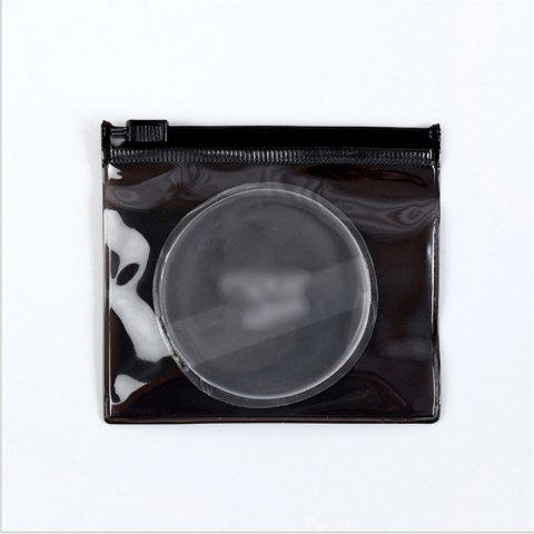 Affordable Silicone transparent makeup do not eat fresh puff face powder crystal air dry and wet