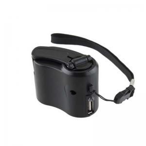 Charger for Mobile Phone MP3 MP4 Travel Cell USB Hand Crank Manual Dynamo Emergency -